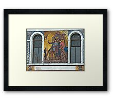 A Little To The Left...... Framed Print