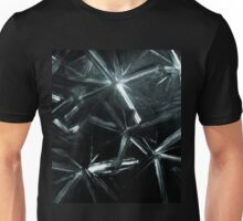 Painted Stars In Black And White Picture Unisex T-Shirt