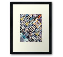 Apartments In The City Framed Print