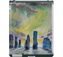 Winter Solstice at Callanish stone circle. iPad Case/Skin