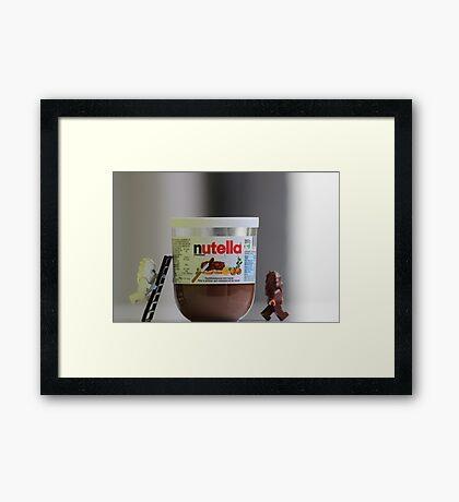 Choco Hmm Framed Print