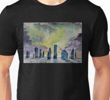 Winter Solstice at Callanish stone circle. Unisex T-Shirt