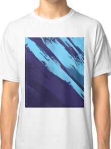 Blue Icing: Watercolor Paint Strokes Classic T-Shirt