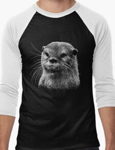 Otter Men's Baseball ¾ T-Shirt
