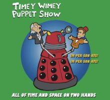 Timey Wimey Puppet Show One Piece - Short Sleeve