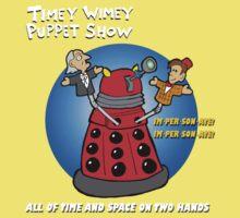 Timey Wimey Puppet Show One Piece - Short Sleeve