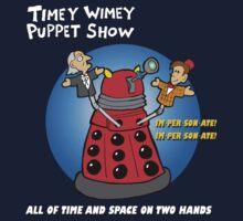 Timey Wimey Puppet Show Kids Tee