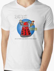 Timey Wimey Puppet Show Mens V-Neck T-Shirt