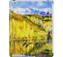 High Plains Autumn iPad Case/Skin