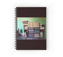Cuba - Cienfuegos - sugar mill bookcase Spiral Notebook