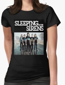 Sleeping With Sirens Tank Finish by md  Womens Fitted T-Shirt