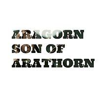 Aragorn son of Arathorn by ElvenMerchant