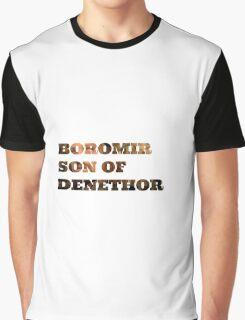 Boromir son of Denethor Graphic T-Shirt