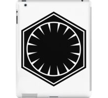 First Order Logo iPad Case/Skin