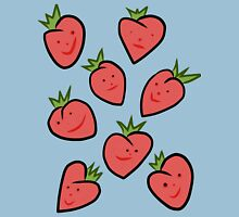Happy Strawberries Unisex T-Shirt