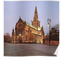 Glasgow Cathedral at Sunset Poster