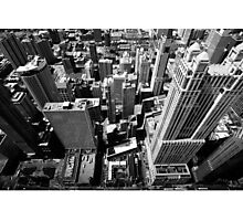 Looking through window Photographic Print