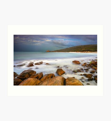 Castle Rock Beach Art Print