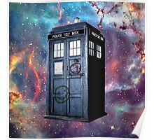 police box galaxy  Poster