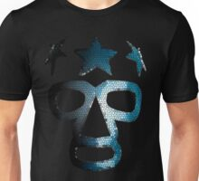 Masked Superstar in stained glass Unisex T-Shirt