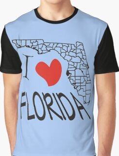 I love Florida Graphic T-Shirt