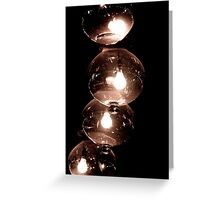 Globes Lit Greeting Card