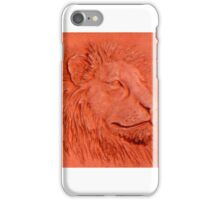 """Terracotta Lion"" by Carter L. Shepard""  iPhone Case/Skin"