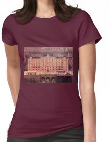Grand Budapest Hotel - Lego version Womens Fitted T-Shirt