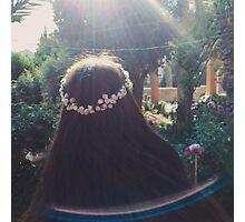 flowers & sunlight Photographic Print