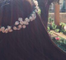 flowers & sunlight Sticker