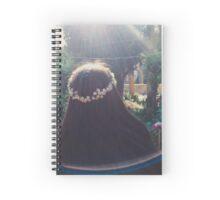 flowers & sunlight Spiral Notebook