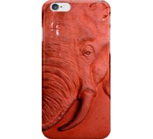 """Terracotta Elephant"" by Carter L. Shepard""  iPhone Case/Skin"