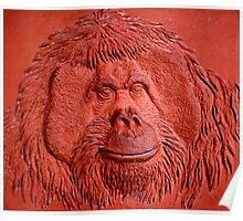 """Terracotta Ape"" by Carter L. Shepard""  Poster"