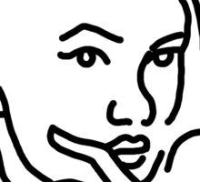 Halsey tattoo - EVERYTHING Sticker