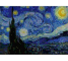 Lego - starry night Photographic Print