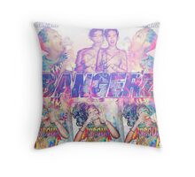 Bangerz Miley Cyrus Throw Pillow
