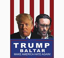 Trump - Baltar : Make America Hate Again! Women's Fitted V-Neck T-Shirt