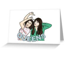 Queens Greeting Card
