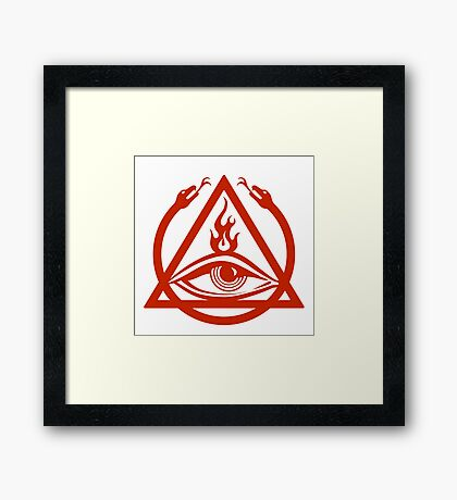 The Order of the Triad - The Venture Brothers Framed Print