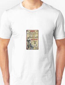 Shady Lady Saloon Unisex T-Shirt