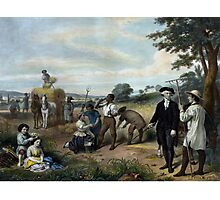 George Washington - The Farmer Photographic Print