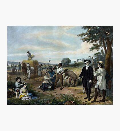 George Washington - The Farmer Photographic Print