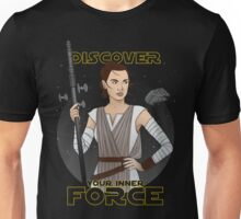 discover your inner force Unisex T-Shirt