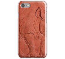 """""""Terracotta Rino"""" by Carter L. Shepard""""  iPhone Case/Skin"""