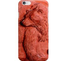 """Terracotta Bear"" by Carter L. Shepard""  iPhone Case/Skin"