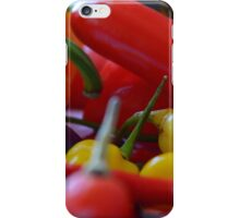 Chilli peppers iPhone Case/Skin