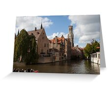 Bruges - Canals Are Fairytale Inspirations Greeting Card