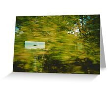 into the green Greeting Card