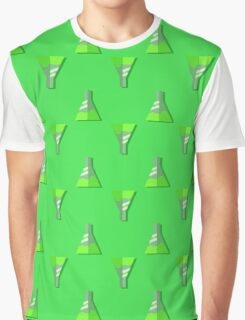 Conical Flask Pattern Graphic T-Shirt