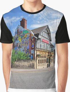 Old Silk Mill, Derby Graphic T-Shirt